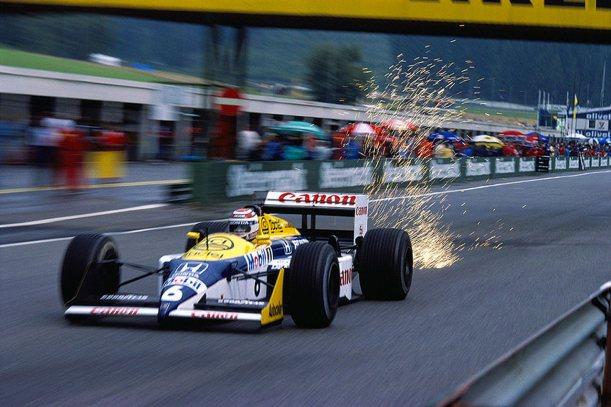 Resultado de imagen de Nelson Piquet, Williams-Honda FW11B (1987)