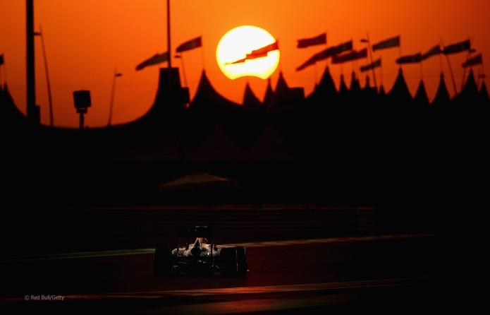 Eclipse en el GP Abu Dabi 2013