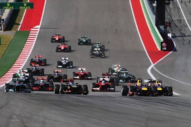 Salida GP Estados Unidos 2013
