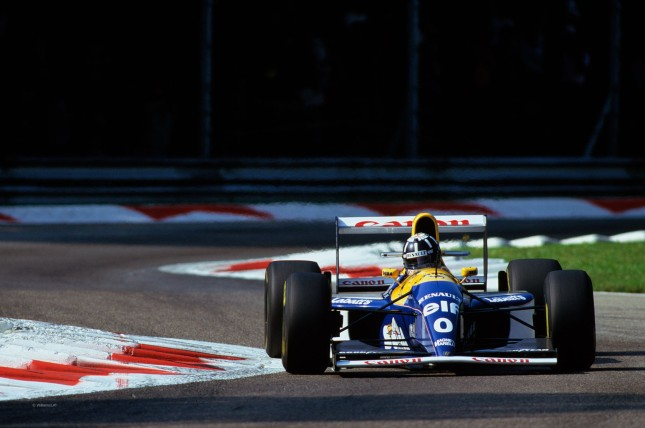 Damon Hill, Williams FW15C Renault  RS5 3.5 V10 (GP Italia 1993, Monza)